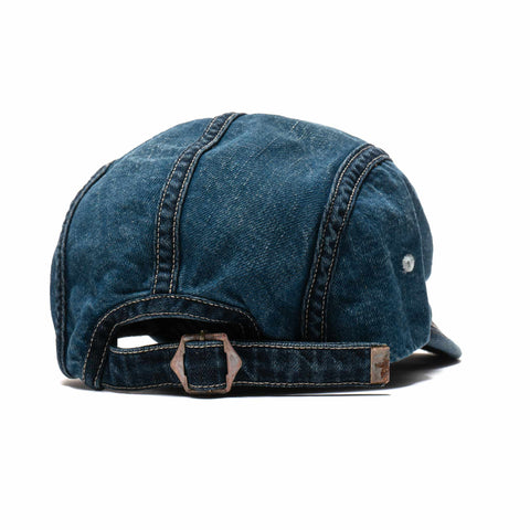 Kapital 11.5oz Denim x Hickoree Camp Cap IDG