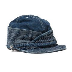 KAPITAL 12 oz Denim Monkey Philip Cap