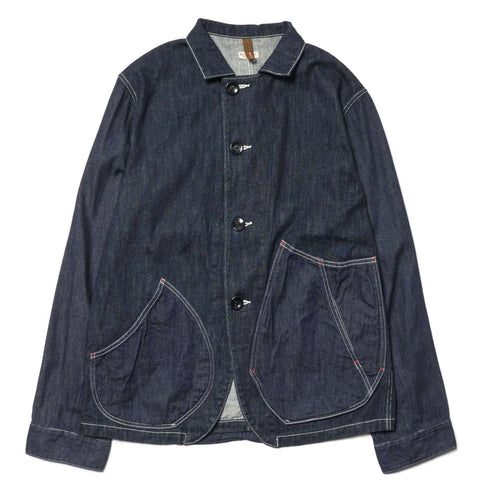 KAPITAL 12 oz x 8 oz Denim Ringoman Coverall