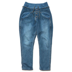 KAPITAL 12 oz Denim Sarouel Nouvelle Pants