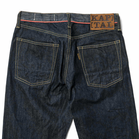 KAPTIAL 14oz Denim 5P Monkey Cisco