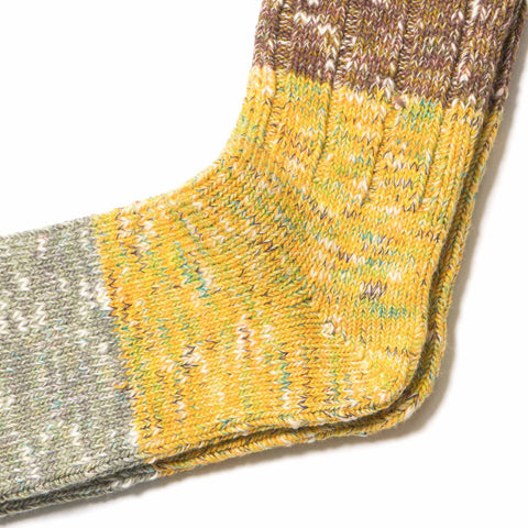 KAPITAL 56 Yarns Gogh Stretch Socks Yellow