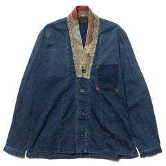 KAPITAL 8oz IDG x IDG Denim Jubbhan Shirt (Dotera Remake)