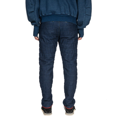 Kapital Denim x Waffle Quilting Swing Pants Indigo
