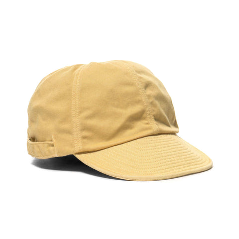 KAPITAL Katsuragi Cotton Kola Cap Yellow