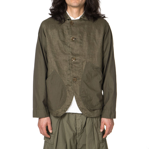 KAPITAL Linen Chino Cloth x Gabardine Ringoman Coverall