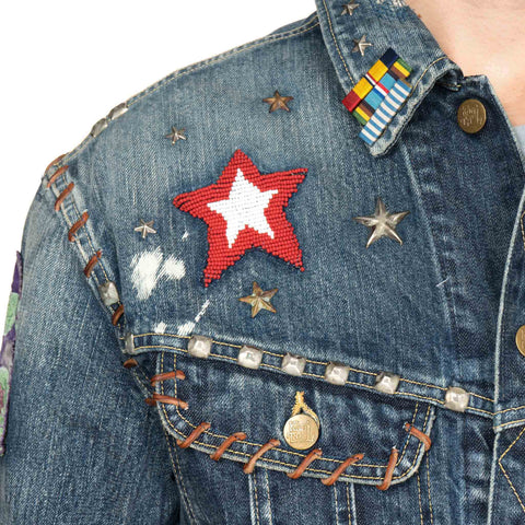 KAPITAL x MARVEL Collection Denim Westerner (HEROES)