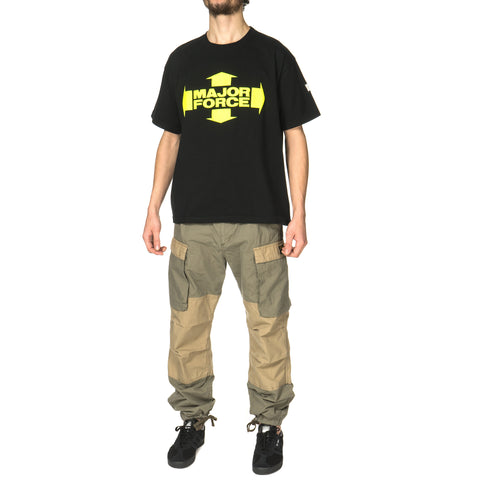 LUKER by NEIGHBORHOOD MF / C-Crew . SS Black