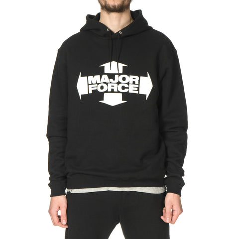 LUKER by NEIGHBORHOOD MF / C-Hooded . LS Black