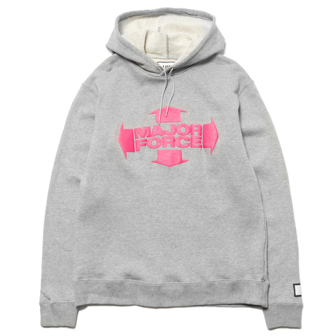 LUKER by NEIGHBORHOOD MF / C-Hooded . LS Gray