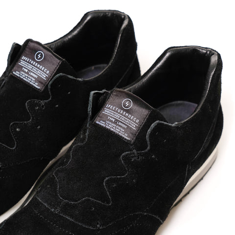 Spectus Laceless System Black (Suede)