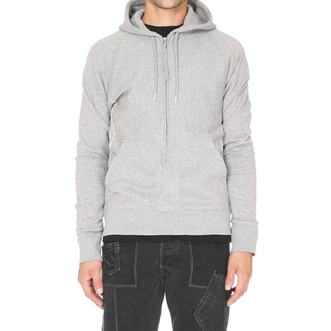 TakahiroMiyashita The SoloIst. Long Zip Hoody Gray