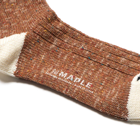 maple Heritage Sock orange
