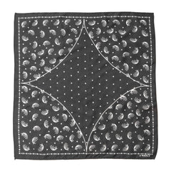 Maple Bandana (Quasar) Charcoal