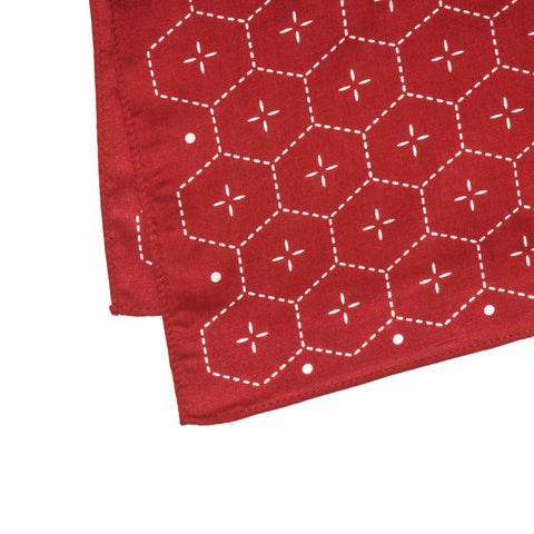 Maple Bandana Red