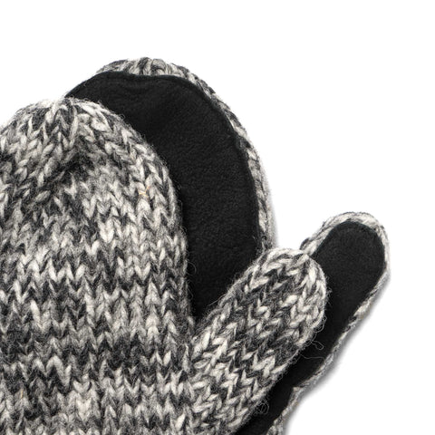 Maple Canada Knit Mitten Heather Gray