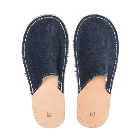 Maple Home Slippers Denim