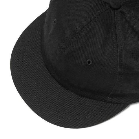 Maple Mesa Cap (Cotton Twill) Black