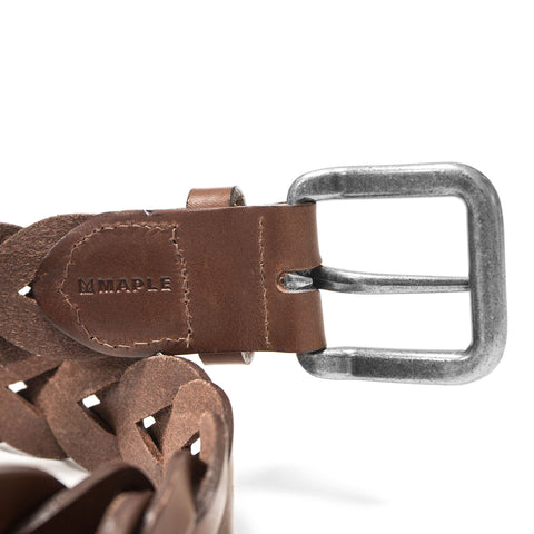 Maple Yarder Belt Brown