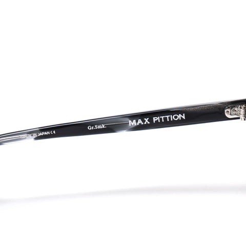 "MAX PITTION ""Bigsby"" Optical Grey Smoke"