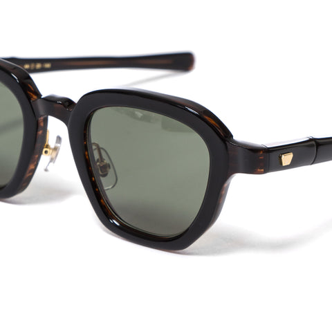 "MAX PITTION ""Bronson"" Sunglasses Dark Brown Saga/G-15"