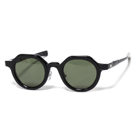 "MAX PITTION ""Diplomat"" Sunglasses Black Saga/G-15"