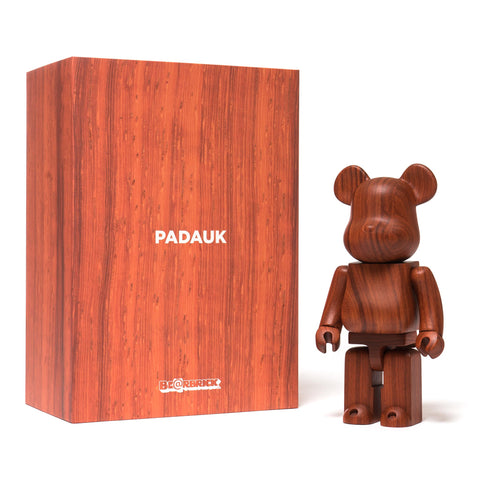 Medicom BE@RBRICK x Karimoku Padauk 400%, Collectibles