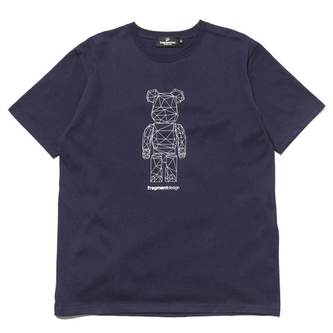 medicom BE@RTEE x fragment design Polygon Navy