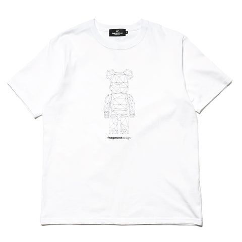 medicom BE@RTEE x Fragment Design Polygon White