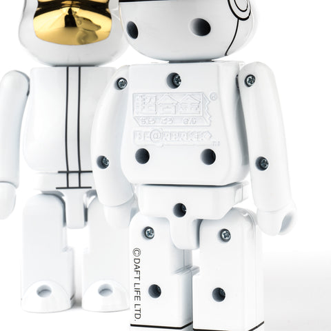 Medicom BE@RBRICK Super Alloy Daft Punk - White Suits Ver. 200%