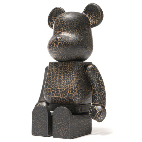medicom BE@RBRICK x Karimoku Crack Paint 400%
