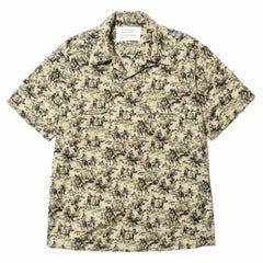 mountain research Open Collar Short Sleeve Camouflage