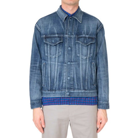 N.HOOLYWOOD Snap Button Denim Jacket