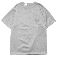 N.Hoolywood Heavyweight Crew Neck T-shirt T.Gray