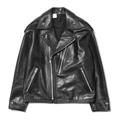 N. HOOLYWOOD Leather Riders Jacket