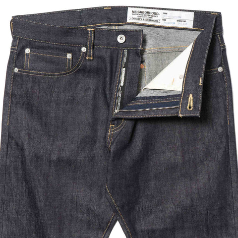 NEIGHBORHOOD Rigid . Dp Narrow / 14Oz-Pt Indigo