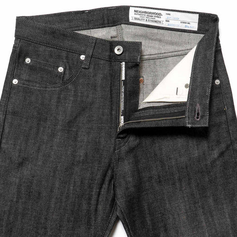 Neighborhood Rigid . DP Mid / 14Oz-PT Black