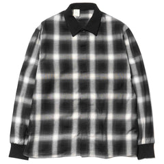 162-SH05 Shirt Black Check