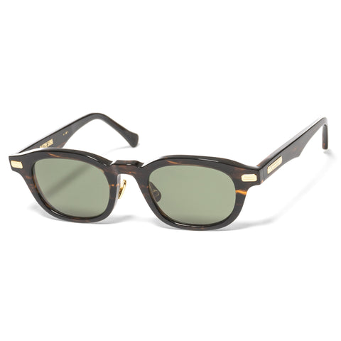"Native Sons ""Clyde"" Sunglasses Gasoline / 16K Gold"