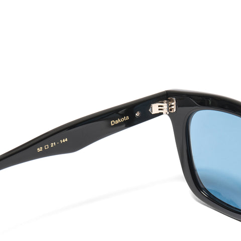 "native sons ""Dakota"" Sunglasses Black/White Gold/Solid Blue"