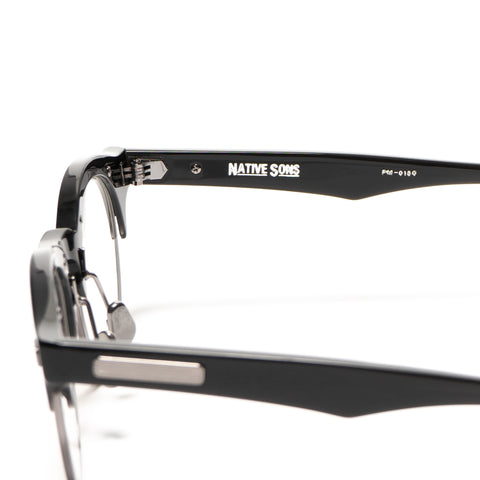 Native Sons Hitchcock Optical Dark Gray/Black/Clear
