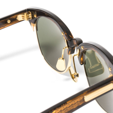 "Native Sons ""John Q"" Sunglasses Gasoline / 16K Gold"