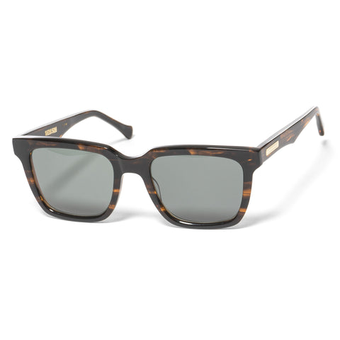 "Native Sons ""Kent"" Sunglasses Gasoline / 16K Gold"
