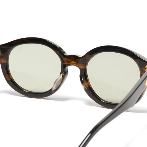 Native Sons Kerouac Sunglasses Gasoline/16K Gold/Green