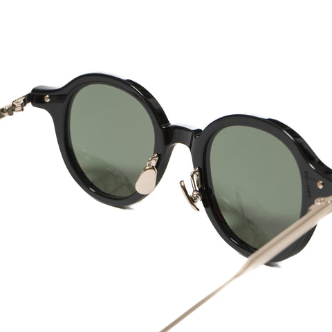 Native Sons Lansky Sunglasses, BLACK/ WHITE GOLD/ G-15