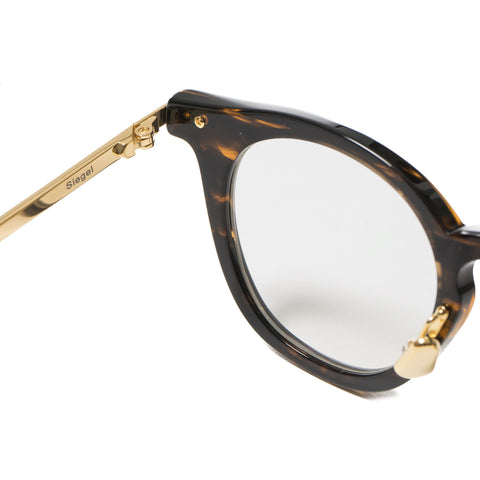 Native Sons Siegel Optical, GASOLINE/ 18K GOLD/ CLEAR