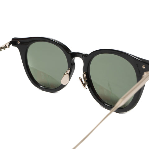Native Sons Siegel Sunglasses, BLACK/ WHITE GOLD/ G-15