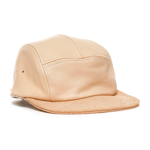 Hender Scheme Natural Tanning Cow Leather Jet Cap
