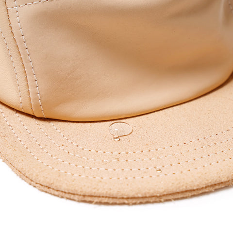 Jet Cap Natural Tanning Cow Leather