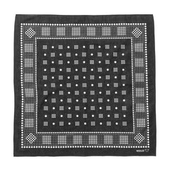 needles Bandana Geometric/Polka dot Charcoal